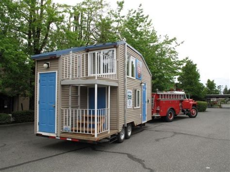 tiny home on trailer fire safety tiny house on a trailer tiny house pins