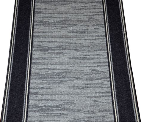 Floor Runners By The Foot by Dean Washable Carpet Rug Runner Boxer Grey Purchase By