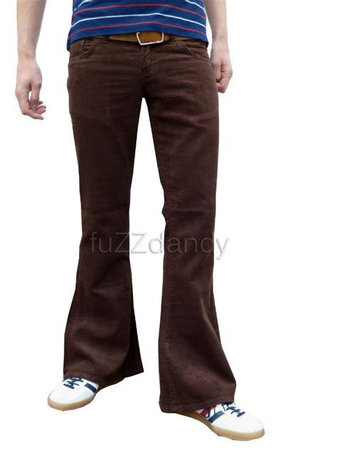 Retro Pant quot classic cord flare quot corduroy bell bottom flares burgundy best flares in the world bell