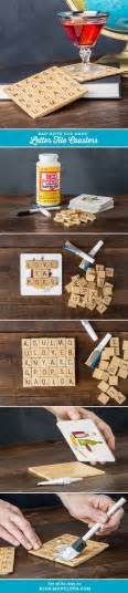 scrabble tiles crafts 25 best ideas about scrabble coasters on