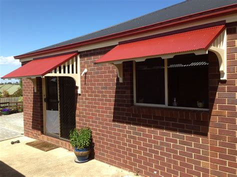 window and door awnings timber window canopies geelong surf coast awnings