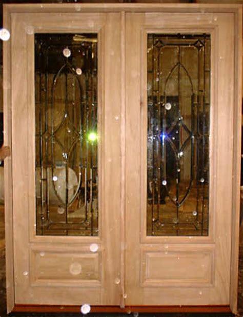 Pistner Glass Doors Double Beveled Glass Door Custom Made Glass Doors