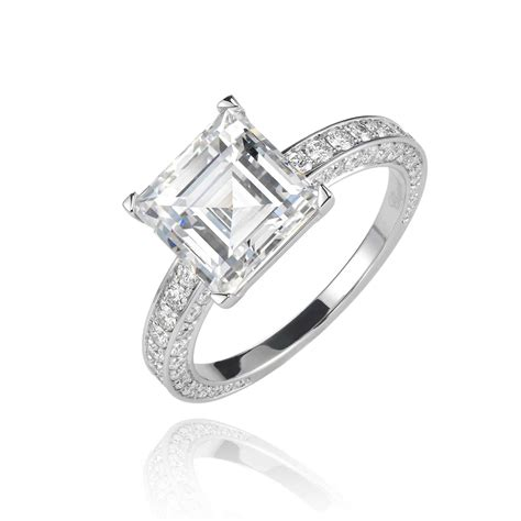 Square Engagement Rings by Get The Pippa Middleton Look Square Engagement Rings