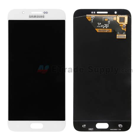 Samsung White A samsung galaxy a8 sm a800 lcd screen and digitizer assembly white etrade supply