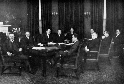 theodore roosevelt administration cabinet members