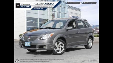 2008 Pontiac Vibe by 2008 Pontiac Vibe Harmony Acura Grey A18042a
