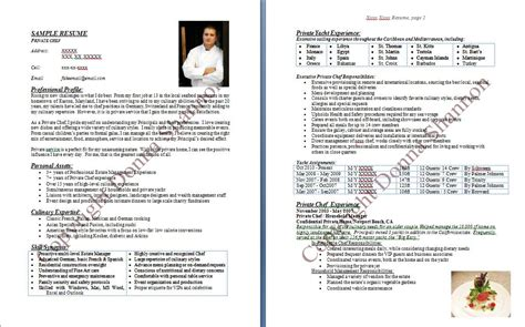 Chef Resume Template by Page Not Found The Dress