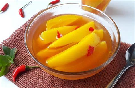 cara membuat manisan mangga yg praktis cara membuat manisan mangga segar dan pedasnya nendang