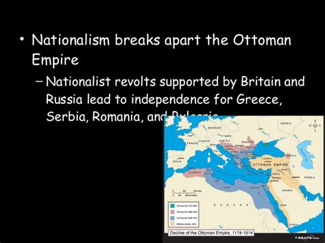 nationalism in the ottoman empire decline of the ottoman and qing internal troubles