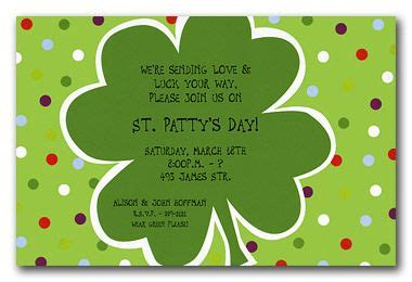 small polka dots invites st s day dinner ideas