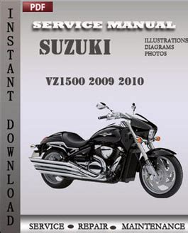 Suzuki Repair Suzuki Vz1500 2009 2010 Service Manual Pdf Repair
