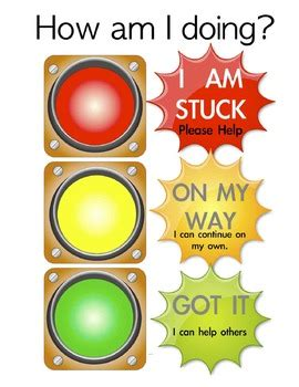 traffic light poster for classroom stoplight assessment cards posters classroom 11 x