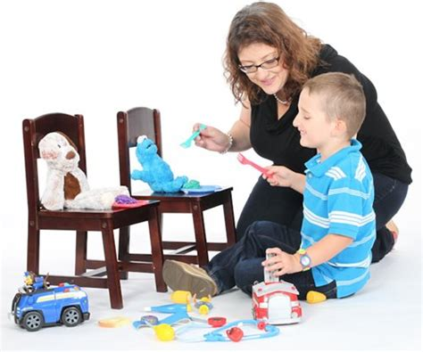 Imitating For by Encouraging Pretend Play In Children With Autism Or Social