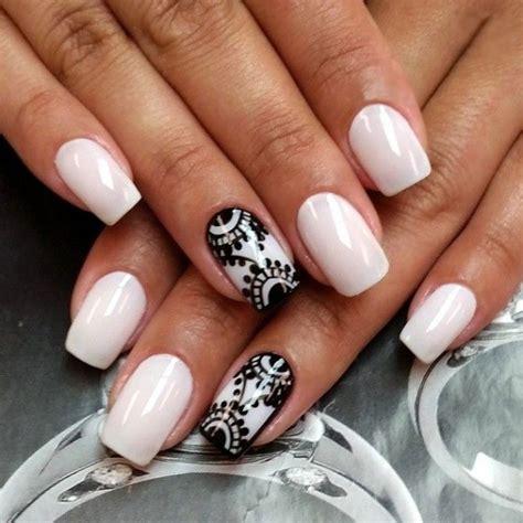 imagenes de uñas pintadas en blanco y negro 40 incre 237 bles dise 241 os en blanco y negro para pintar tus u 241 as