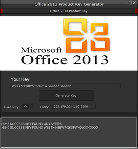 Microsoft Office 2013 Activation Key by Ms Office 2013 Product Key Free