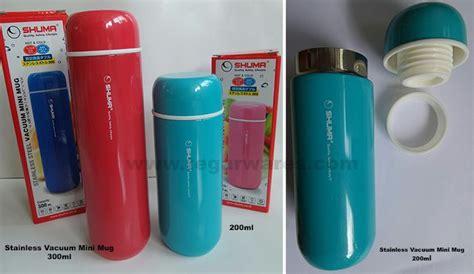 termos shuma stainless vacuum mini mug kapasitas 300ml dan 200ml vacuum flask promotional