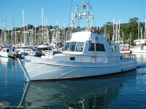 displacement boats for sale 42 foot ex charter displacement cruiser power boats