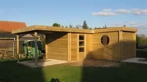 construction abri de jardin moderne sur mesure prix plan