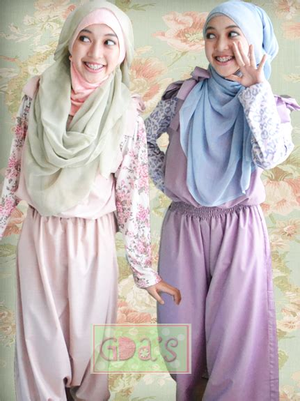 Jumpsuit Pashmina Inner gda s by ghaida girly sporty look 1