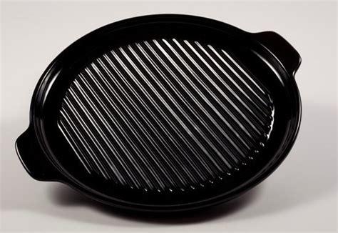100 ceramic grill gridle 12 quot 100 ceramic ovenex pizza grill pan