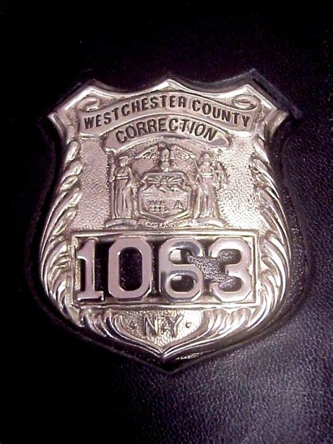 Officer Ny collector s badges prison and correction badges