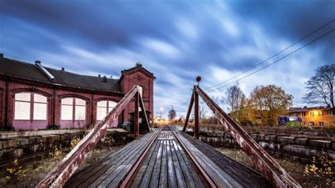 relaxing railroad track wallpapers