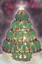 instructions for vintage safety pin christmas trees 7 quot safety pin beaded tree with crafts
