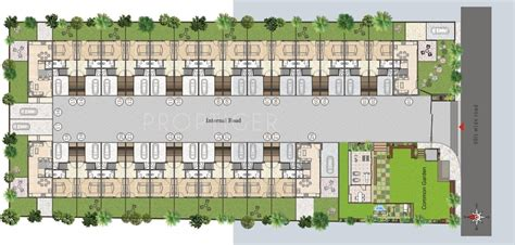 layout design villa 1935 sq ft 3 bhk 4t villa for sale in akshar spacelinks