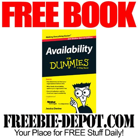getting your for dummies books free book availability for dummies freebie depot