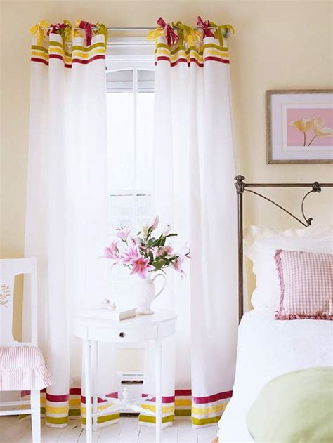 Easy Way To Hang Curtains Decorating 20 Budget Friendly No Sew Diy Curtains Ideas