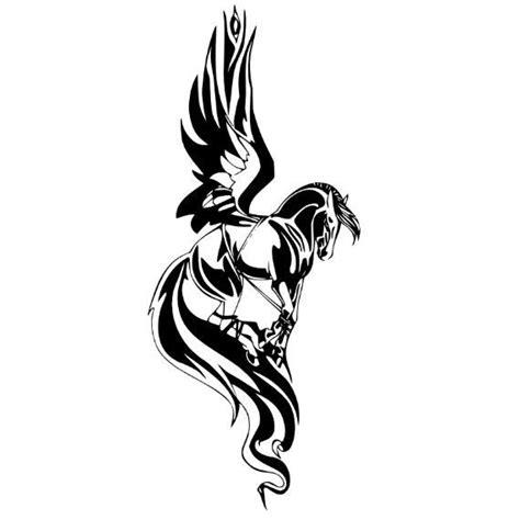 small pegasus tattoo 40 pegasus designs