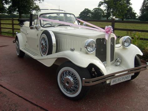 wedding car watford vintage beauford beauford wedding car hire in watford