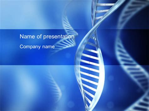 Dna Theme Powerpoint Template Backgrounds 10609 Poweredtemplate Com Dna Powerpoint Templates