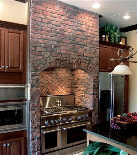 How To Install A Glass Tile Backsplash In The Kitchen coronado stone products kitchen application clinker bric