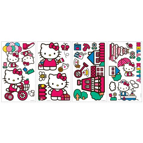 Monkey Stickers For Walls hello kitty bathroom toilet decals potty training concepts