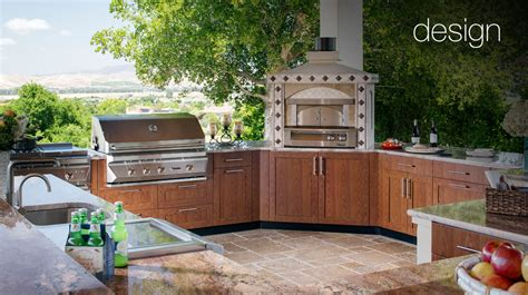 Furniture For Kitchen Cabinets by Luxury Outdoor Kitchens Brown Jordan Outdoor Kitchens