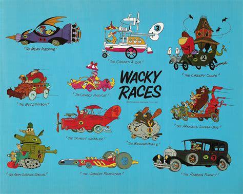 wacky races barbera s wacky races publicity flyer 1970 kerry flickr
