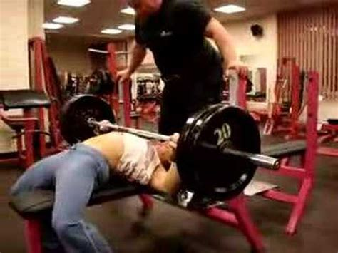 220 bench press kasia wos 220 lb bench press raw youtube