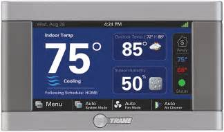 trane xl850 tcont850 thermostat