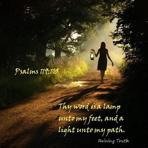 thy word is a l unto and a light unto path
