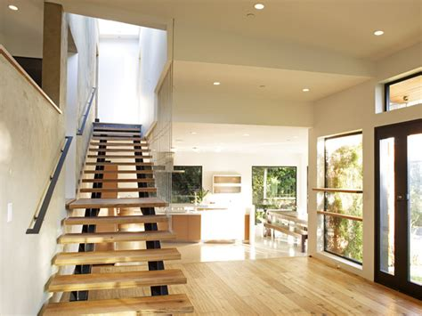 split master bedroom mill valley contemporary split level staircase to master