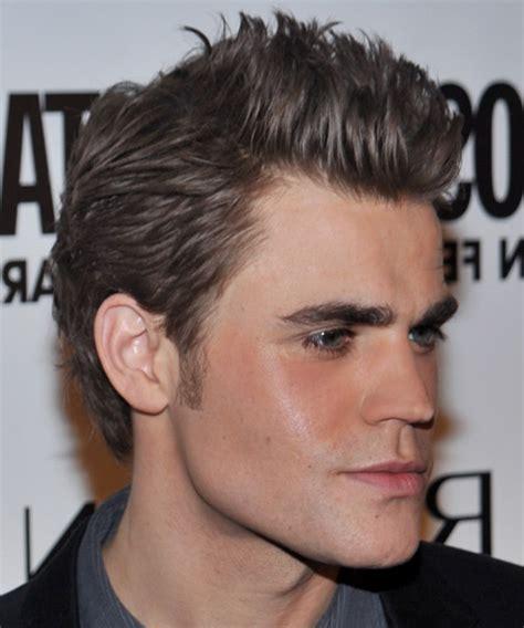 Paul Wesley Hairstyle by Paul Wesley Casual Hairstyle Ash