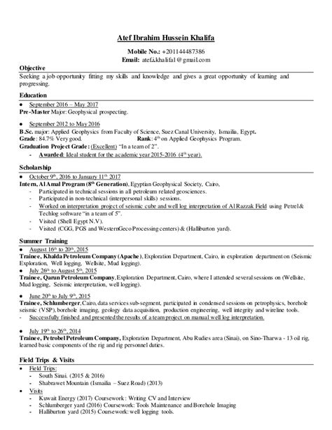 Schluberger Field Engineer Cover Letter by Schluberger Field Engineer Sle Resume Nardellidesign