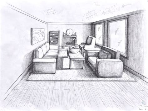 1 Point Perspective Room Ideas by 25 Best Ideas About One Point Perspective Room On