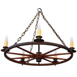 Wagon Wheel Chandeliers Classic Vintage Wagon Wheel Chandelier At 1stdibs