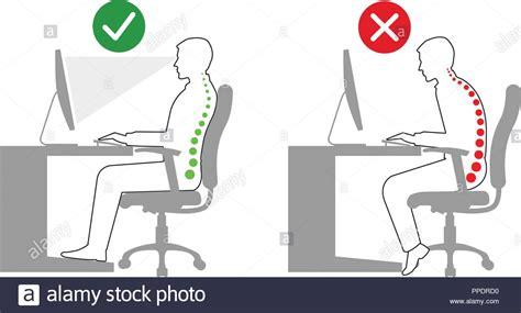 postura seduta corretta ergonomia corretta ed errata postura seduta quando si