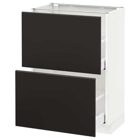 metod maximera base cabinet with 2 drawers white grevsta metod maximera base cabinet with 2 drawers white