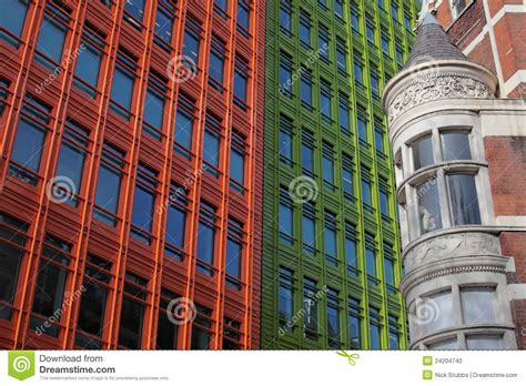 architecure modern times historical and modern architecture in stock photo image 24204740