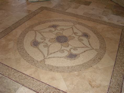 Kitchen Entryway Ideas by Foyer Tile Floor Detail