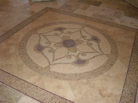 Foyer Tile floor detail